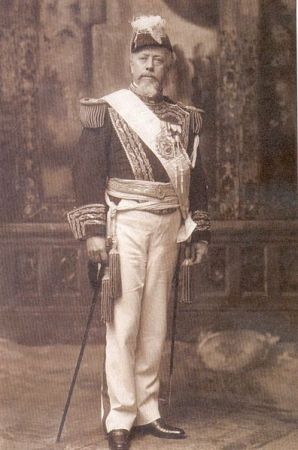 Portrait des früheren Präsidenten von Argentinien Julio Argentino. Er gilt als Vorzeigeperson für die Entstehung Argentiniens