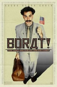 Borat - Kein anderer Film hat ein Land so geprägt Theatrical release poster in faux Cyrillic