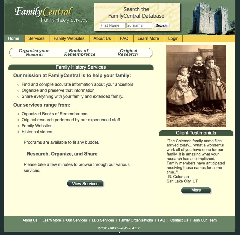 Ahnenforschung mit Anleitung und Praxisbeispiel – Familycentral.net